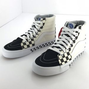 Vans SK-8 Hi Checker Skate Shoe